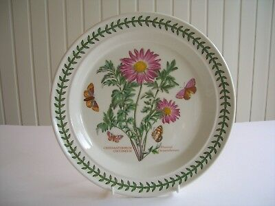 "Portmeirion Botanic Garden - 1 x 10.5"" Dinner Plate - Chrysanthemum -  UNUSED?"