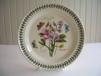 "Portmeirion Botanic Garden - 1 x 10.5"" Dinner Plate - Sweet Pea -  UNUSED?"