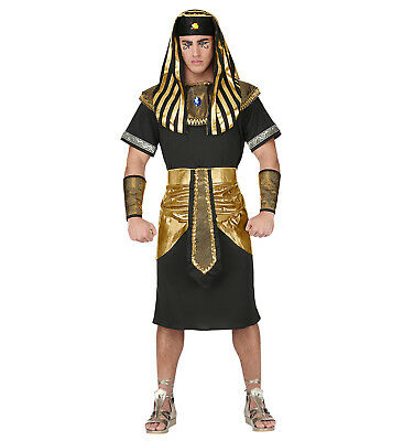 Mens Male Pharaoh Adult Egypt Egyptian Fancy Dress Costume Outfit S