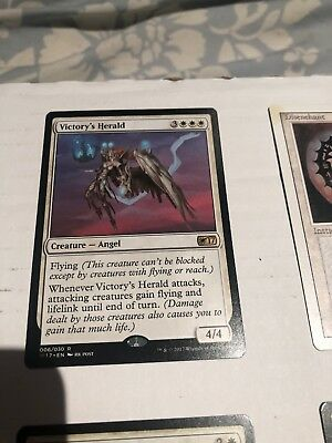 1x VICTORY'S HERALD - Rare - Commander - MTG - NM - Magic the Gathering