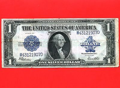 1923 United States 1 Dollar Silver Certificate Bank Note