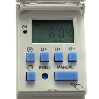 DC 12V 16A Digital LCD Programmable Timer Relay Switch for Power Equipment Affrd