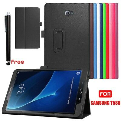 """Flip leather Stand Case Cover For Samsung Galaxy Tab A 10.1"""" T580/585"""