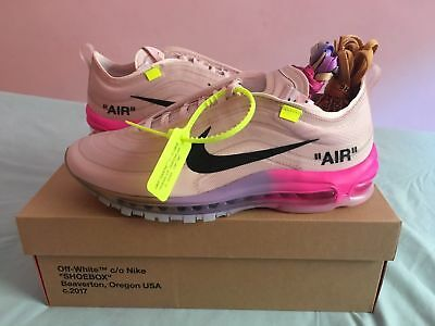 hot sale online 1a634 b38e0 BRAND NEW THE Ten Nike Air Max 97 Og Off White Serena Williams Virgil Queen  9.5