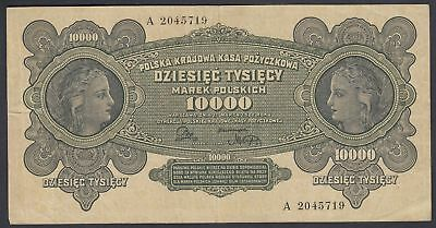Polen Poland: 10.000 Marek Mark 11.3.1922 (P-32)