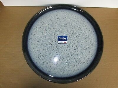 Denby Pottery Halo Round Platter New First Quality Excellent Condition