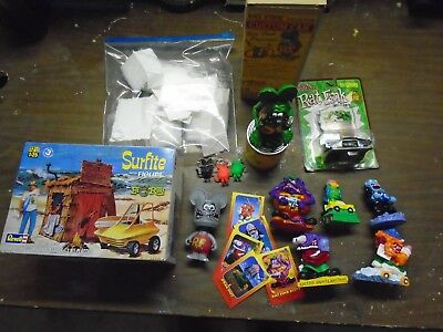 Ed Roth Ratfink toy and figure lot FREE SHIPPING.