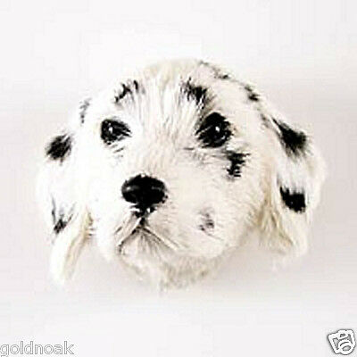 (1) Dalmation Dog Fur Magnet. Promote Your Fire Department! Great As Gifts!