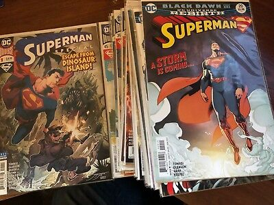 Superman Rebirth Comic Lot Issues 20-45 and the Superman Special