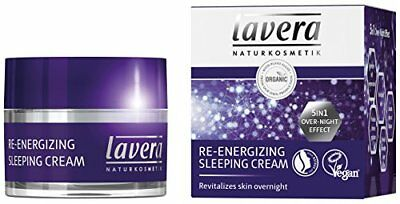 Lavera crema de dormir re-energizing-5 in1 over-night-effect-Antienvejecimien