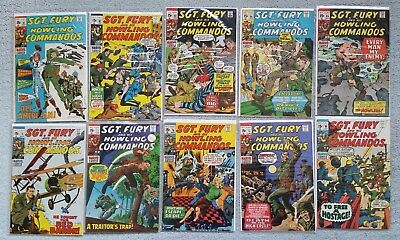 Sgt. Fury and his Howling Commandos - Lot of 10, #76-85