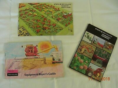 Three Old New Holland Farm Booklets