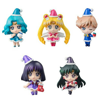 5pcs Sailor Moon Christmas Special Outside The Solar System Figuren Statue NB