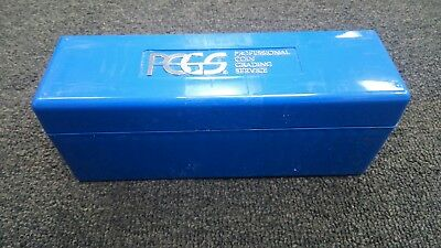 8 Blue PCGS Storage Boxes Coin Case Each holds 20 Slabbed Coins