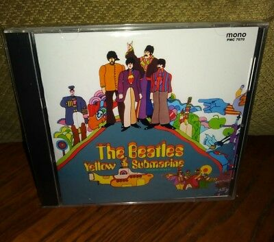 The Beatles Yellow Submatrine PMC 7070 CD in MONO