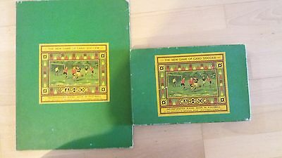 Football board game:CAR-SOC' THE NEW GAME OF CARD SOCCER'(COLLECTABLE ITEM)1930