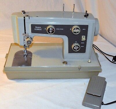 VINTAGE SEARS KENMORE Portable Electric Sewing Machine 4040 Fascinating How To Thread A Sears Kenmore Sewing Machine Model 158