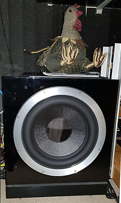B&W DB1D Black Active Sub-woofer