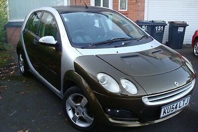 "2004 Smart For Four Passion 1.1 Ltr 5 Doors 4 Seats With Full V5 ""no Reserve"""