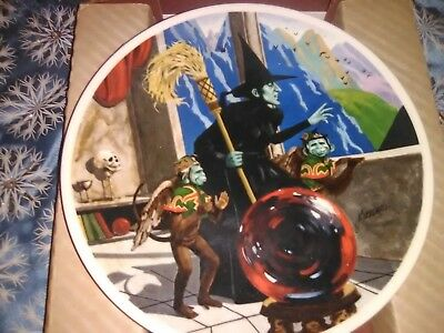 Knowles 1979 Wizard of Oz Collectors Plate The Wicked Witch MINT CONDITION
