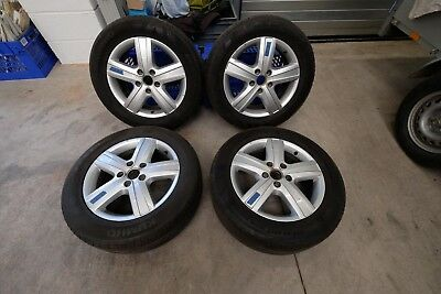 """VW T5.1 Genuine Alloy Wheels With Tyres To Fit Transporter & California 17"""""""