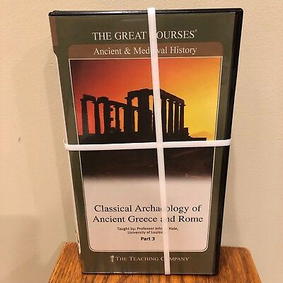Ancient & Medieval History The Great Courses 3 Parts 6 DVD NEW
