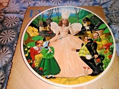 Knowles 1979 Wizard Of Oz Collectors Plate Glinda The Good Witch