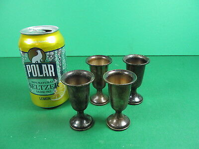 Towle sterling weighted cordials set of 4