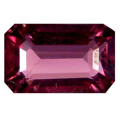 1.34 Ct AAA+ Étonnant Octogone Forme (7 X 5 mm) Rosé Rouge Grenade Rhodolite