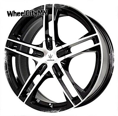 17 Inch Chrome Verde V36 Protocol Rims Fits Cadillac Ats Cts Sts Dts