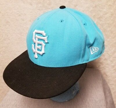 e1c41b52b3f MLB San Francisco Giants New Era 9Fifty Snapback Baseball Hat Ball Cap Size  M-L