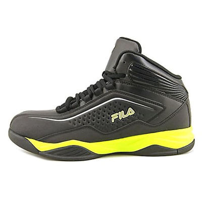 MEN'S FILA® ENTRAPMENT Black Athletic Shoes Medium Width