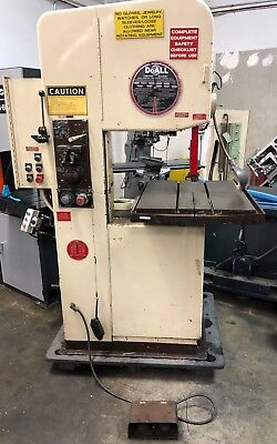DoAll hydraulic feed band saw with VIDEO!!!