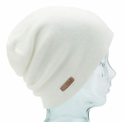 55320ef84c6f4 Coal Headwear THE JULIETTA Womens Fine Knit Slouchy Fit Beanie Creme NEW