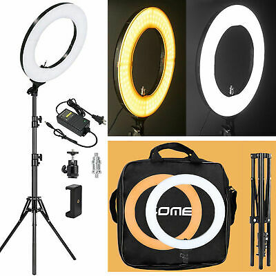 """14"""" LED SMD Photography Ring Light Dimmable Lighting with Stand for Camera DSLR"""