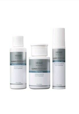 Obagi CLENZIderm M.D. Normal-to-Oily Kit Acne Skin EXP 1/2020