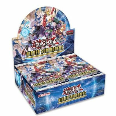 Yugioh Hidden Summoners 1st Edition Booster Box Factory Sealed 24 packs English