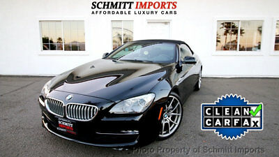 """2012 BMW 6 Series Conv 650i, low miles, back-up cam, Extra Clean Car 2012 BMW 650i Convertible bluetooth, cooled seats, 20"""" wheels"""