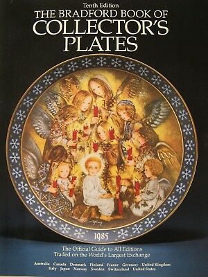The Bradford Book of Collector Plates Official Guide to All Editions  L15