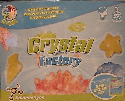 Crystal Factory Science Experiment Kit STEM - Science4You