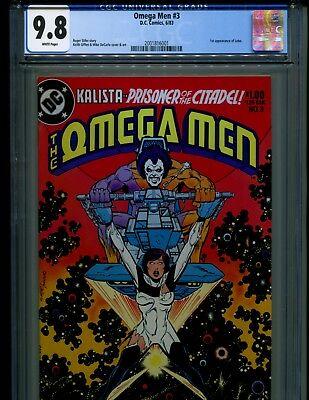 Omega Men 3 Cgc 9.8 W Pgs Vol. 1! 1St Lobo!! Coming To Tv! Looks Perfect!!!!!!!!