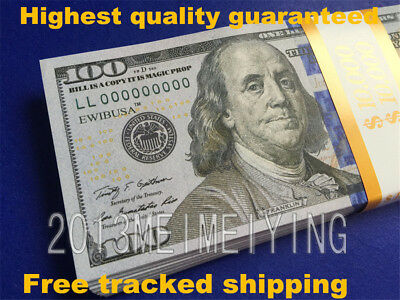 $100Bills-$10000-Stack For Movie Video Play Prank Fake Replica Copy Prop Money