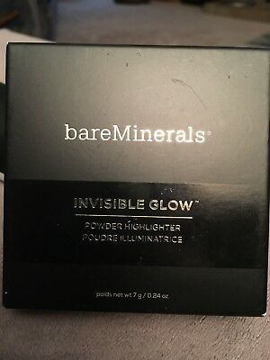 Bareminerals Invisible Glow Powder Highlighter Tan 7 g. Sealed Fresh