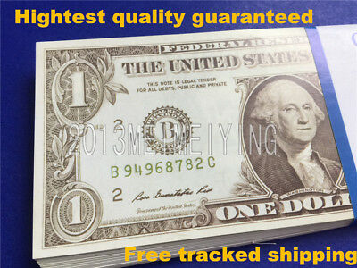 $1 Bills-$100-Stack For Movie Video Play Prank Fake Replica Copy Prop Money