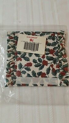 Longaberger Traditional Holly Ruffled  Handle  Gripper