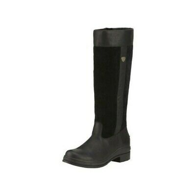 Ariat Windermere Long Yard Country Riding Boots Black **sale**