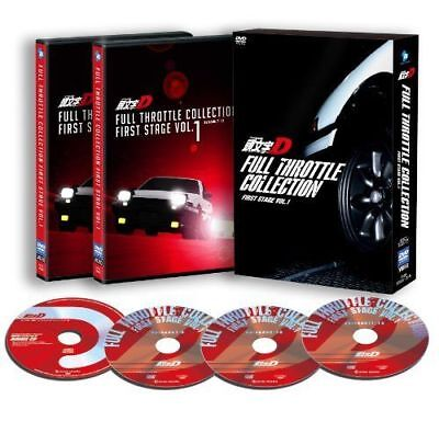Initial D Full Throttle Collection - First Stage Vol.1-Japan 3Dvd+Cd Aa50