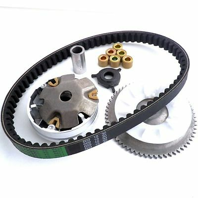 Variator Set w/ Drive Belt for Chinese GY6 50cc 4T Scooter 139QMB
