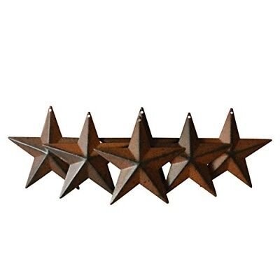 CVHOMEDECO. Country Rustic Antique Vintage Gifts Metal Barn Star Wall/Door Decor