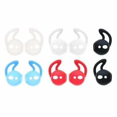 5 Color Eartips Silicone In-ear Headset Earbuds Cover Hook For Apple Airpods